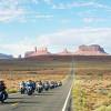 Route 66 mit dem Motorrad