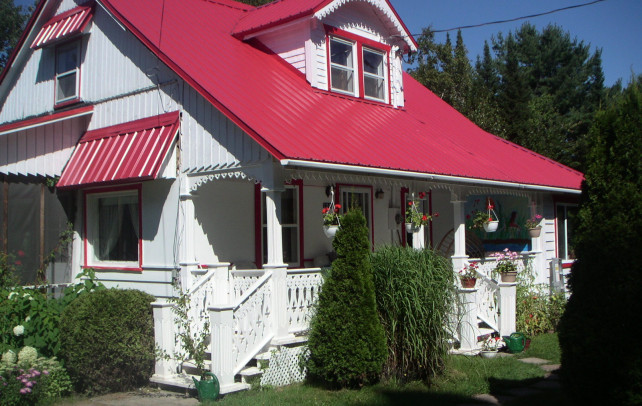 "Bed and Breakfast Provinz Quebec ""La Maison des Huards"""
