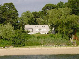 Luxusvilla am Strand auf Long Island
