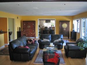 Wohnzimmer im Luxusanwesen