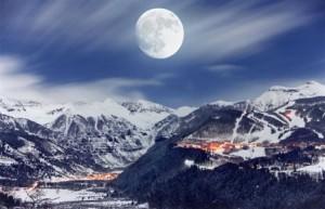Skifahren im Telluride Skiresort USA