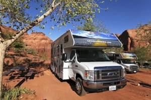 Wohnmobil von Cruise America in Utah