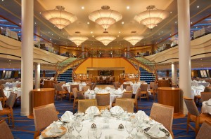 Carnival Breeze Sapphire Dining Room