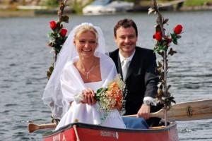 Heiraten Sie in Kanada mit der Beaver Guest Ranch auf einer kleinen Insel