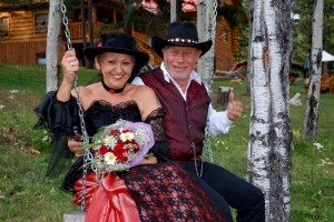Hochzeit in Kanada von der Beaver Guest Ranch organisiert