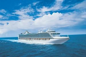 Reisen auf einem Kreuzfahrtschiff der Princess Cruises
