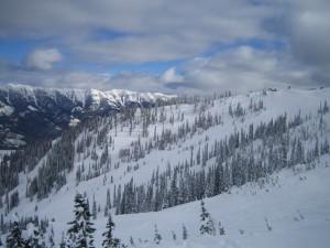Skireise zum Skifahren nach Kanada