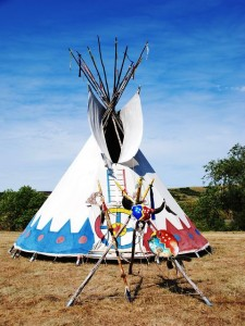 Indianerreise - The Great Plains Bild von Sandra Immik