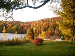 ein nettes Bed and Breakfast an einem See in Quebec mit deutschen Gastgebern