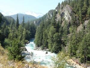 Aussicht vom Rocky Mountaineer aus