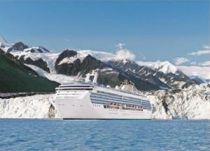 Princess Cruises Alaska, Princess Cruises mit Denali